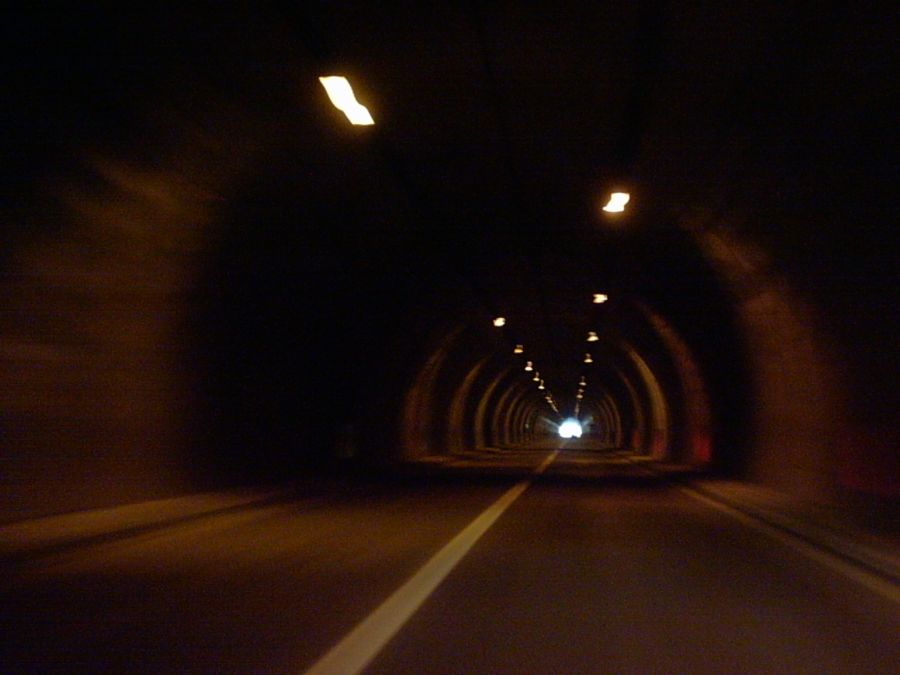 Is that a light at the end of the tunnel or is it a train?